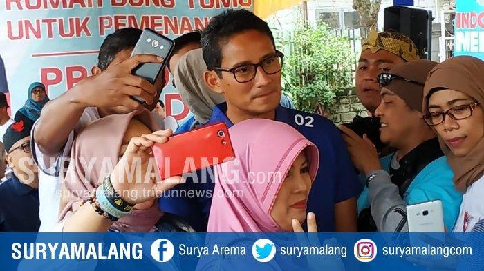Hasil Quick Count di TPS Sandiaga Uno, Pasangan Jokowi-Ma'ruf Amin Unggul