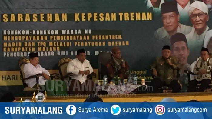 Peringati Hari Santri, Pemkab Malang Bakal Setarakan Pendidikan Pesantren dengan Sekolah Formal