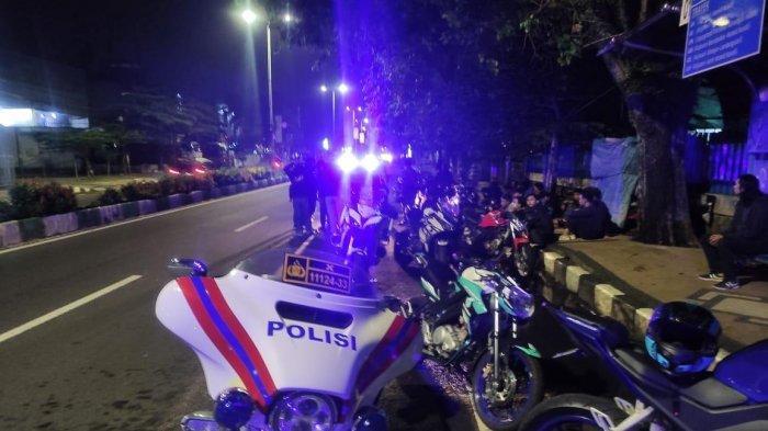 Akan Beraksi Melakukan Balapan Liar, 16 Sepeda Motor Diamankan Satlantas Polresta Malang Kota