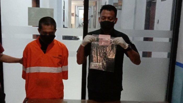 Polresta Malang Kota Tangkap Pegguna Sabu-sabu di Jalan Peltu Sujono, Kota Malang