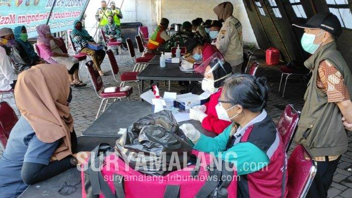 2 Hari Rapid Test Massal di Pasar Tradisional, Satgas Covid-19 Kota Blitar Temukan 10 Orang Reaktif