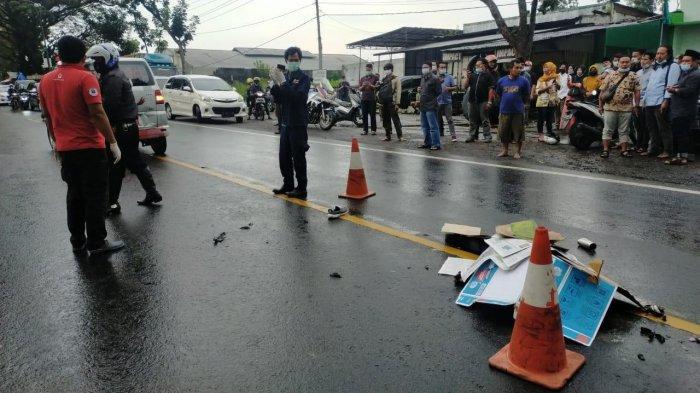 Tabrakan Honda Vario Vs Truk Mitsubishi di Pakisaji Kabupaten Malang, Satu Orang Tewas