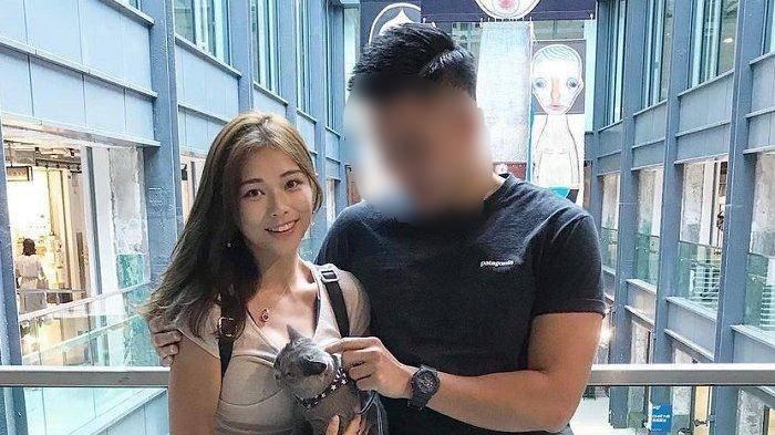 SC dan finalis Miss Hong Kong, Jessica Liu saat masih pacaran