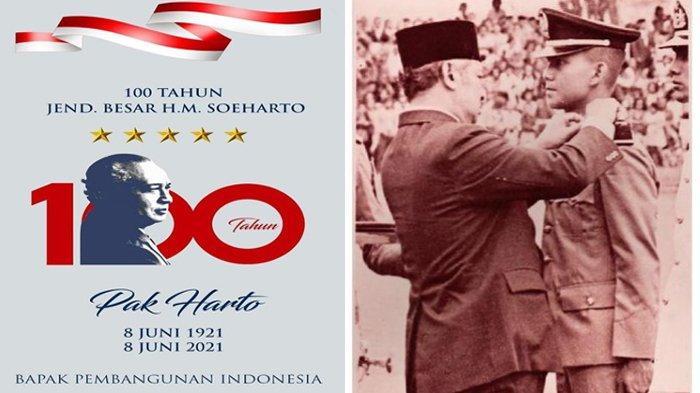 Seabad Presiden Soeharto, Titiek dan Prabowo Sama-Sama Unggah Hal Ini, Foto Jadul Bersama