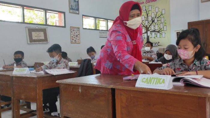 13 SD Kota Blitar Sudah Terapkan Pembelajaran Tatap Muka, Sekolah Lain Mulai Pekan Depan
