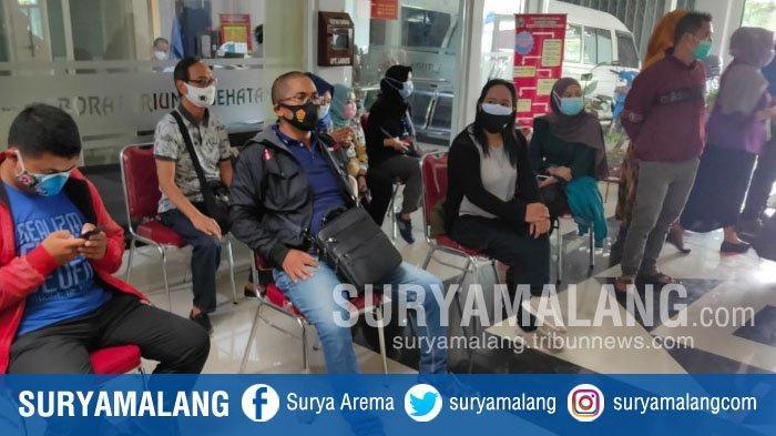 Update Wali Kota Malang, Sutiaji Positif Covid-19, Sejumlah Wartawan Jalani Swab Test
