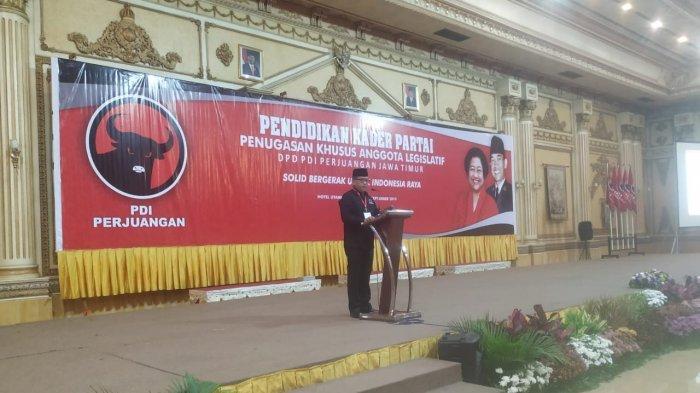 PDI Perjuangan Kumpulkan 343 Anggota DPRD se-Jatim di Hotel Utami, Sidoarjo