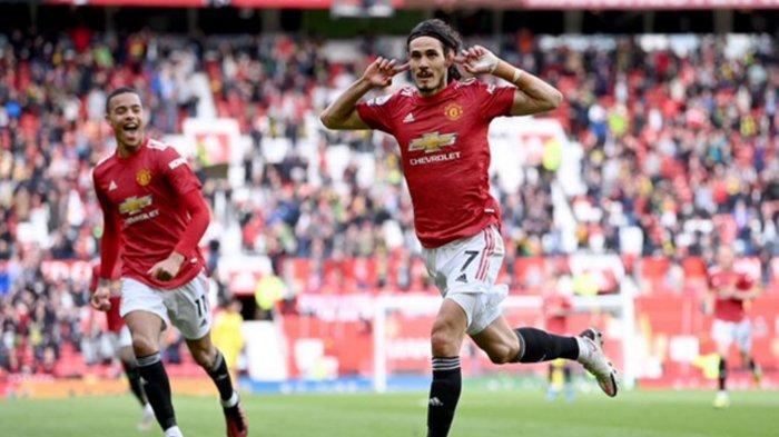 Manchester United Gagal Menang Atas Tim Degradasi Fulham, Padahal Ada Gol Cantik Jarak Jauh Cavani