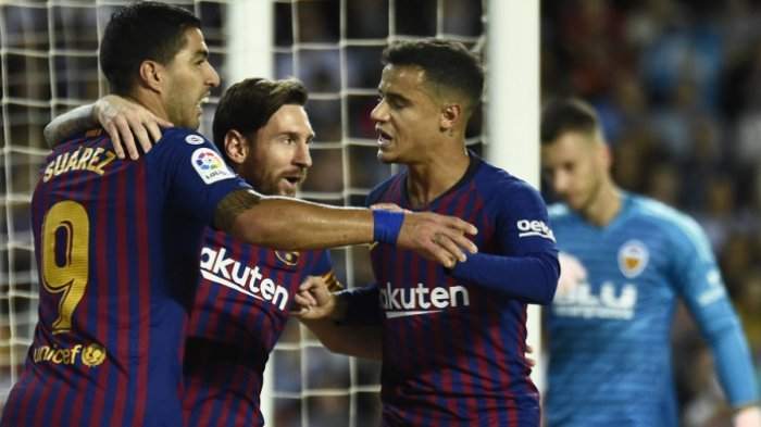 Hasil Pertandingan Barcelona Vs Valencia Adalah 1-1, Barca Tak Bisa Menang Lagi di Liga Spanyol