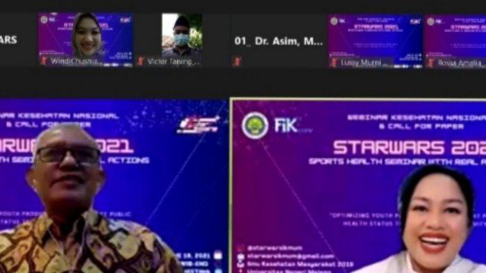 IKM Universitas Negeri Malang Gelar Semnas 'STARWARS 2021'