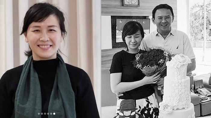 Potret Veronica Tan saat ini dan ketika dirinya masih mendampingi Ahok saat menjadi Gubernur DKI Jakarta
