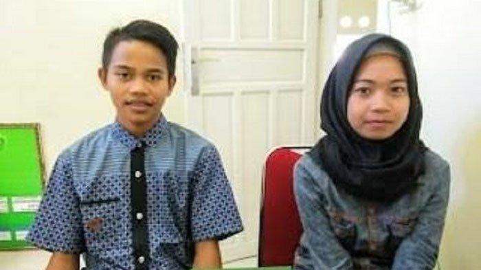 Bukan Karena Dijodohkan Atau Si Cewek Hamil, Perkawinan 2 Pelajar SMP Ini Hebohkan Jagat Maya