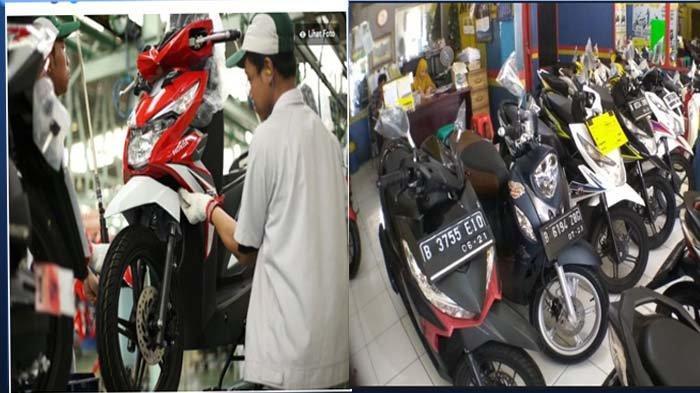 Imbas Corona Penjualan Sepeda Motor Baru dan Bekas Alami Penurunan Drastis