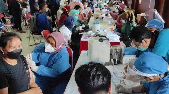 Terakhir Besok, Ada Serbuan Vaksinasi Maritim di Gedung Kesenian Kota Blitar