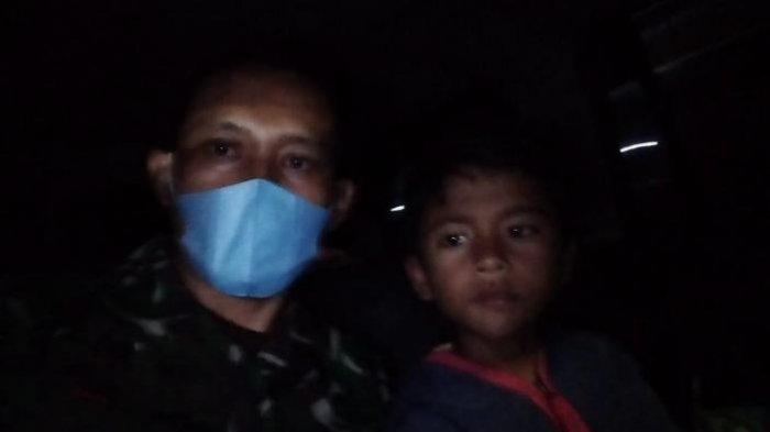 Bocah 9 Tahun Jualan Sate Kol dari Mojokerto ke Gresik, Tempuh Rute Jauh, Ditolong Anggota Koramil