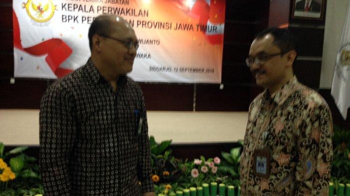 Kepala BPK Jatim Resmi Diserah Terimakan Kepada Mantan Kepala BPK Riau