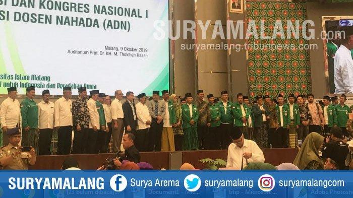 Rektor Unisma, Prof Dr H Maskuri Msi Harap Aliansi Dosen Nahada (ADN) Jadi Organisasi Pengawal NKRI