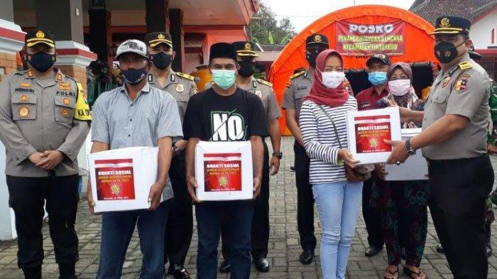 Sespimti Polri Salurkan Bantuan Paket Sembako ke Kabupaten Malang dan Lumajang