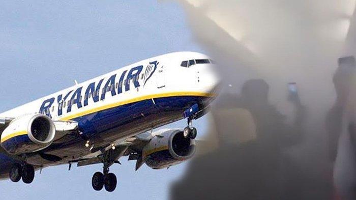 Setelah Lepas Landas, Kabin Pesawat Mendadak Dipenuhi Asap, Suasana Mencekam 169 Penumpang Terekam