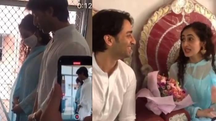 Beredar Video Akad Nikah Shaheer Sheikh & Ruchika Kapoor yang Buat Fans Heboh: Itu Momen yang Indah