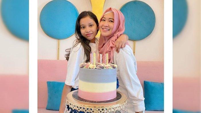 Shakiena Azalea putri Pasha Ungu dan Okie Agustina merayakan ulang tahun