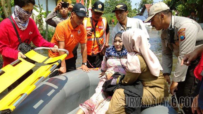 Perjuangan Berat Sherly, Korban Banjir yang Sedang Hamil 8 Bulan di Mojokerto