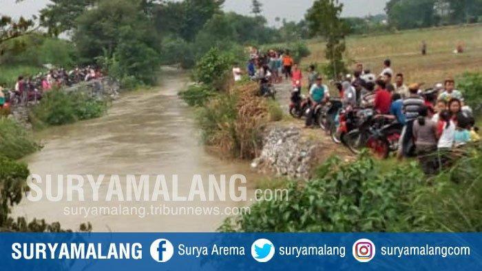 Wanita Tanpa Identitas Tewas Mengapung di Sungai Desa Sidomojo, Sidoarjo, Ada Darah di Wajah