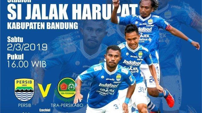 Live Streaming & Prediksi Persib Bandung Vs Tira Persikabo, Pembuka Piala Presiden Mulai 14.45 WIB