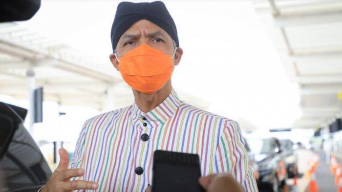 Ada Penumpang Covid-19 Lolos Pemeriksaan, Gubernur Ganjar Pranowo Sidak Bandara Ahmad Yani Semarang