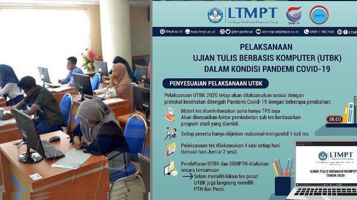 Menjelang Besok Pendaftaran UTBK-SBMPTN 2020 Simak Syarat dan Jadwalnya melaluiwww.ltmpt.ac.id
