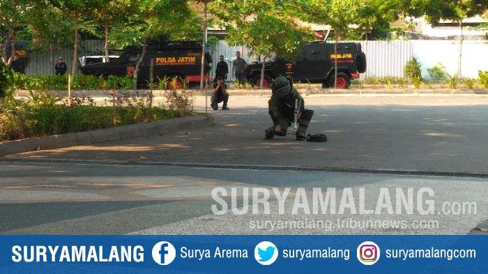 Penyanderaan dan Suara Tembakan Warnai Simulasi Penanganan Terorisme di Unair Surabaya