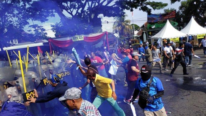 Polres Malang Kota Gelar Simulasi Pengamanan Pemilu 2019, Beri Kepastian Keamanan Pada Warga