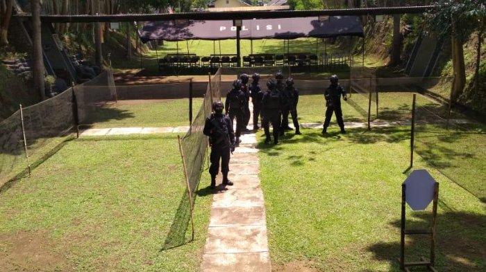 Detasemen B Brimob Pelopor Polda Jatim Punya Rumah Tembak Bernama Rapala Yanottama