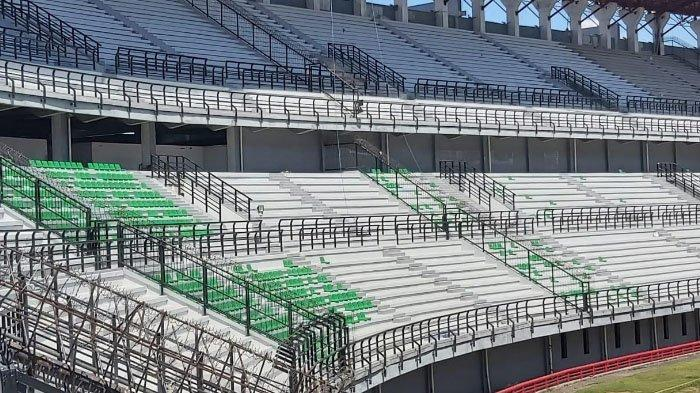 Menuju Piala Dunia U-20 2021, Stadion GBT Surabaya Terus Bersolek, Kebut Pemasangan Single Seat