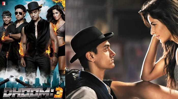 Sinopsis Dhoom 3 Sinema Bollywood India di ANTV Hari Ini, Dibintangi Aamir Khan dan Katrina Kaif