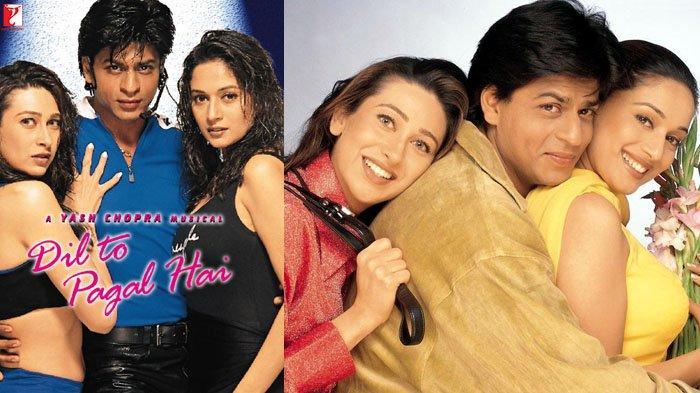 Sinopsis Dil To Pagal Hai, Film India ANTV Hari Ini 23 Mei 2020 Jam 11.30, Dibintangi Shah Rukh Khan