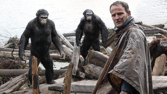 Sinopsis Film Dawn of The Planet of Apes Malam Ini 2 Oktober 2019 di GTV, Perterungan Kera & Manusia