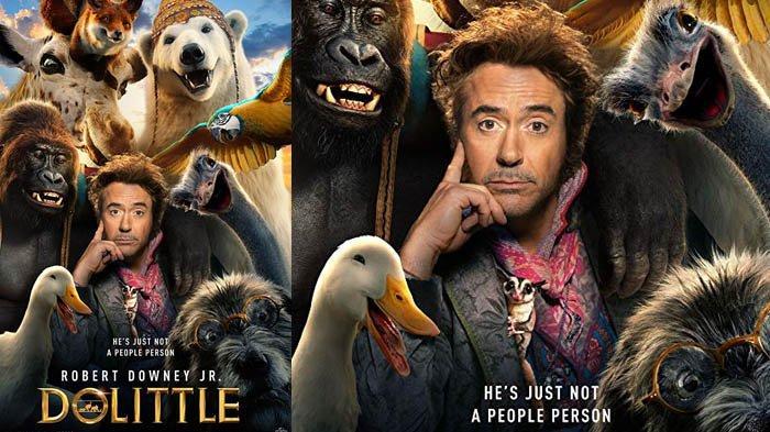 Sinopsis Film Dolittle Dibintangi 'Iron Man' Robert Downey, Jr., Tayang di Bioskop Mulai Besok