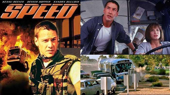 Sinopsis Film Speed di GTV Kamis 3 Oktober 2019, Aksi Keanu Reeves Menghentikan Bus Berisi Bom