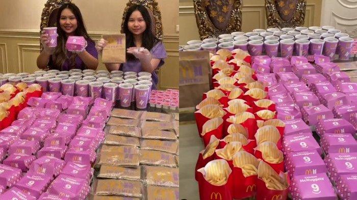 Aksi Sisca Kohl Borong Puluhan BTS Meal, Ngaku Gak Beli Banyak Tapi Jumlahnya sampai Satu Meja Penuh