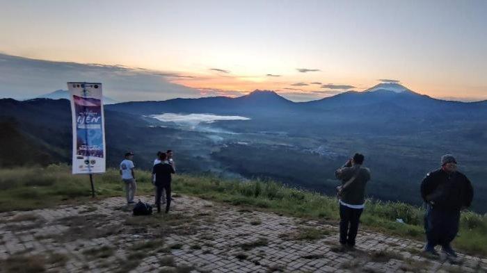 Kaldera Ijen Purba dapat Terlihat dari Puncak Megasari, Bakal Jadi Lanscape Site Ijen Geopark