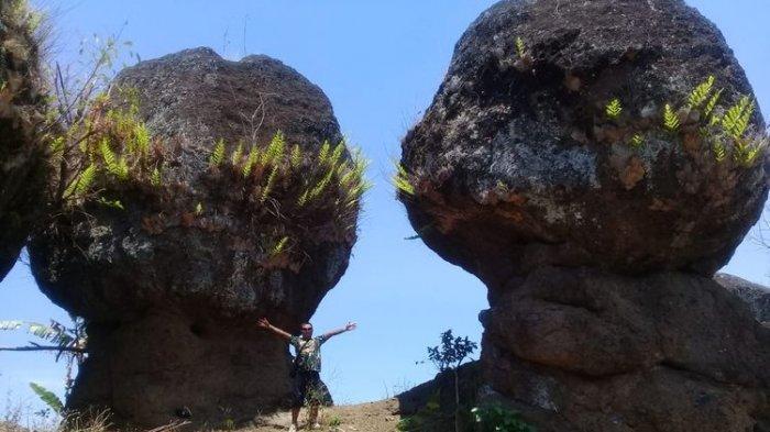 Asal-usul Nama Batu So'on Bondowoso, Tempat Wisatawa Mirip Stonehenge yang Misterius