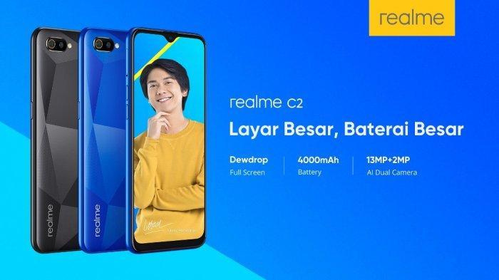 Realme C2 Diluncurkan Untuk Para Pemula Pengguna Smartphone Di Surabaya