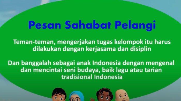 Soal Kunci Jawaban Sd Kelas 1 3 Tvri Jumat 5 Juni 2020 Contoh 5 Jenis Tari Tradisional Indonesia Surya Malang