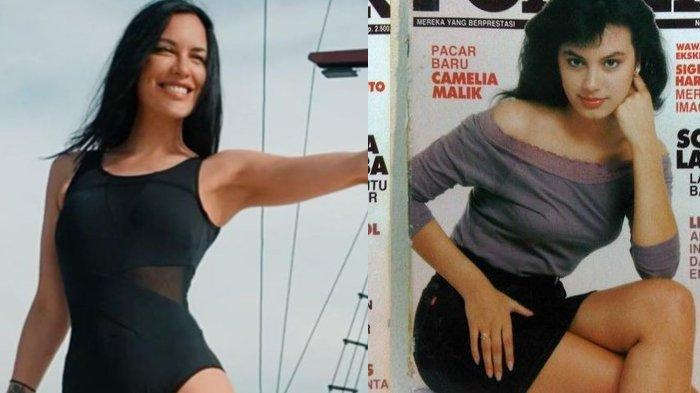 Foto-foto Jadul Sophia Latjuba Jadi Model Remaja Sampai Usia 50 Tahun Pakai Bikini, Apa Rahasianya?