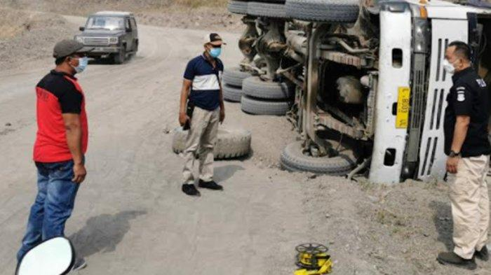Sopir Truk Tewas Tertimbun Material Sirtu di Tambang Galian C Ngoro Mojokerto