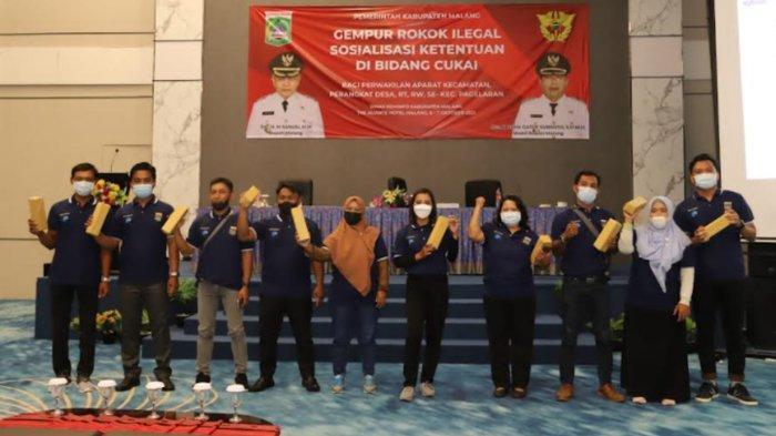 Sosialisasi Rokok Ilegal oleh Kantor Bea Cukai dan Diskominfo di Kabupaten Malang Semakin Masif