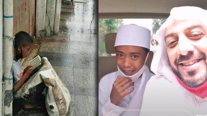 Sosok Pemulung Anak Angkat Syekh Ali Jaber, Viral Baca Alquran di Emper & Disiapkan Jadi Imam Besar