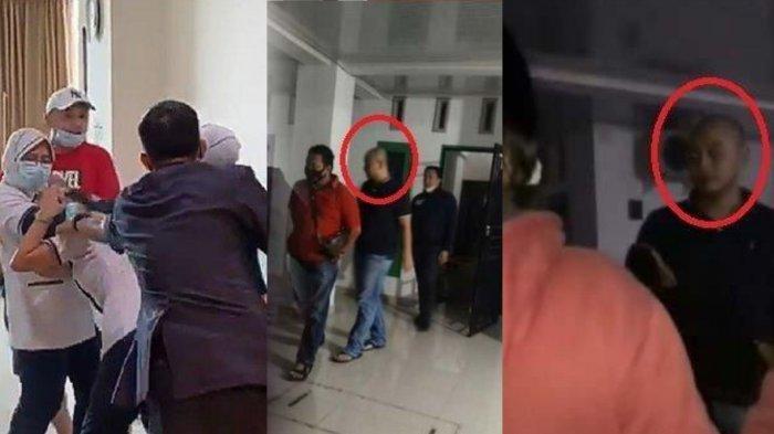 Sosok pria yang viral aniaya perawat di sebuah rumah sakit Palembang akhirnya ditangkap
