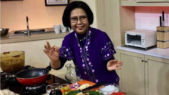 Sosok Sisca Soewitomo, Ciptakan Beragam Resep, kini Pensiun Gantung Panci hingga Trending di Twitter